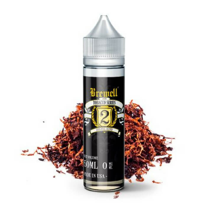 #2 (Original Tobacco) by Brewell Tobacco Series Wholesale eLiquid | eJuice Wholesale VapeRanger