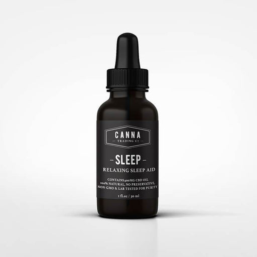 Canna Trading CBD Sleep Tincture- VapeRanger Wholesale eLiquid/eJuice