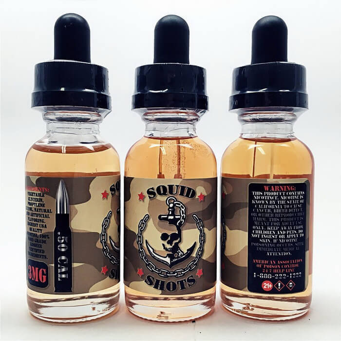 .50 CAL by Squid Shots E-Liquid - Unavailable Wholesale eLiquid | eJuice Wholesale VapeRanger