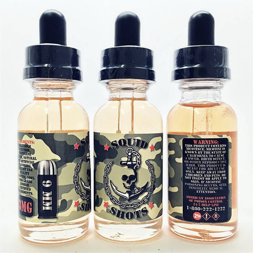 9MM by Squid Shots E-Liquid - Unavailable- VapeRanger Wholesale eLiquid/eJuice