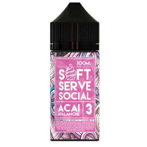 Acai Avalanche by Soft Serve Social E-Liquid- VapeRanger Wholesale eLiquid/eJuice