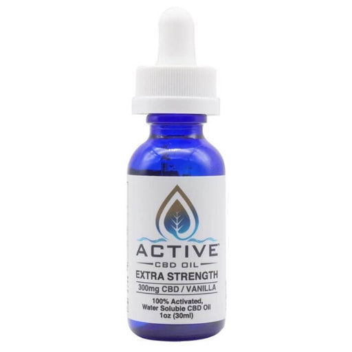 Active CBD Oil Water Soluble Vanilla Tincture- VapeRanger Wholesale eLiquid/eJuice