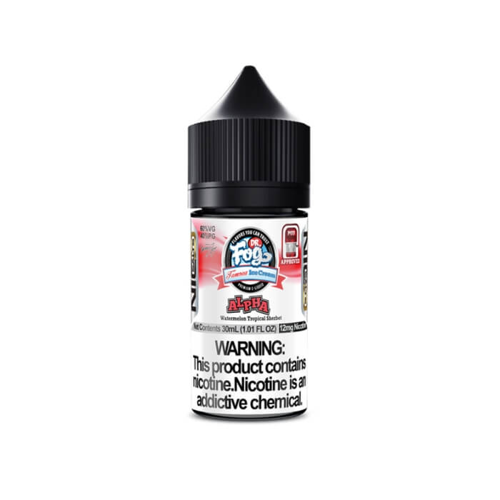 Alpha by Dr. Fog's Famous Ice Cream Nicotine Salt eJuice #1