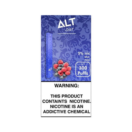 Alt Bar Blue Razz Disposable Device- VapeRanger Wholesale eLiquid/eJuice