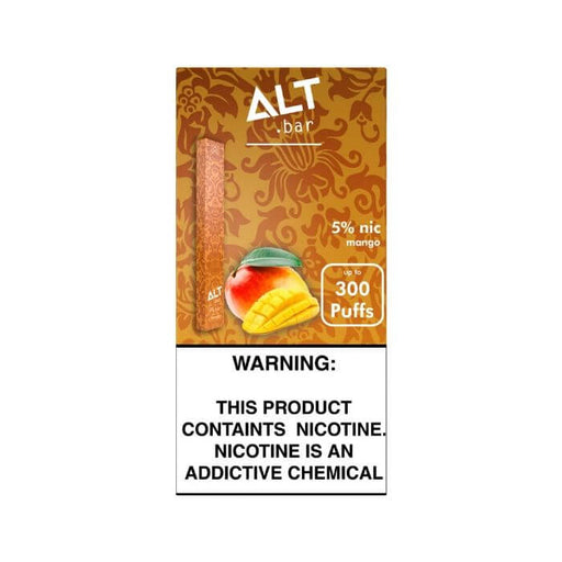 Alt Bar Mango Disposable Device- VapeRanger Wholesale eLiquid/eJuice