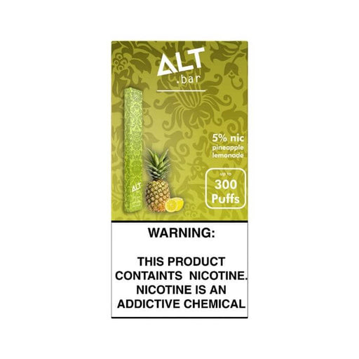 Alt Bar Pineapple Lemon Disposable Device- VapeRanger Wholesale eLiquid/eJuice