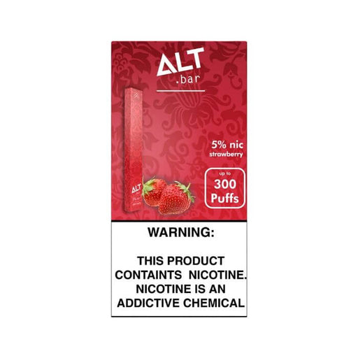 Alt Bar Strawberry Disposable Device- VapeRanger Wholesale eLiquid/eJuice