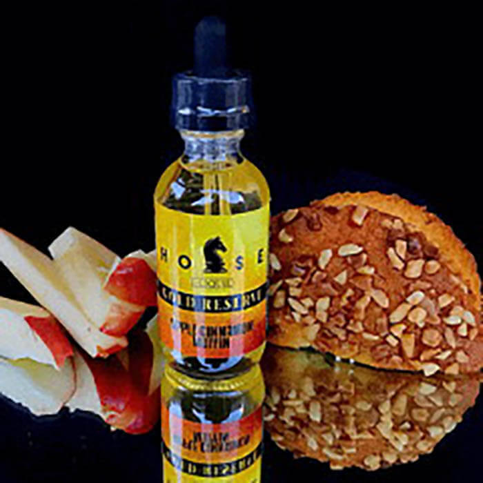 Apple Cinnamon Muffin Gold Reserve by Horse E-Liquid Wholesale eLiquid | eJuice Wholesale VapeRanger