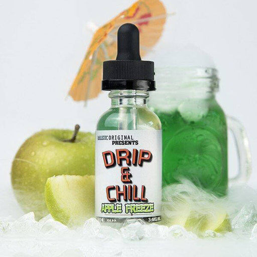 Apple Freeze by Drip & Chill eJuice- VapeRanger Wholesale eLiquid/eJuice
