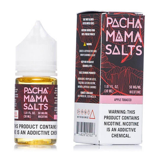 Apple Tobacco by Pachamama Nicotine Salt E-Liquids- VapeRanger Wholesale eLiquid/eJuice