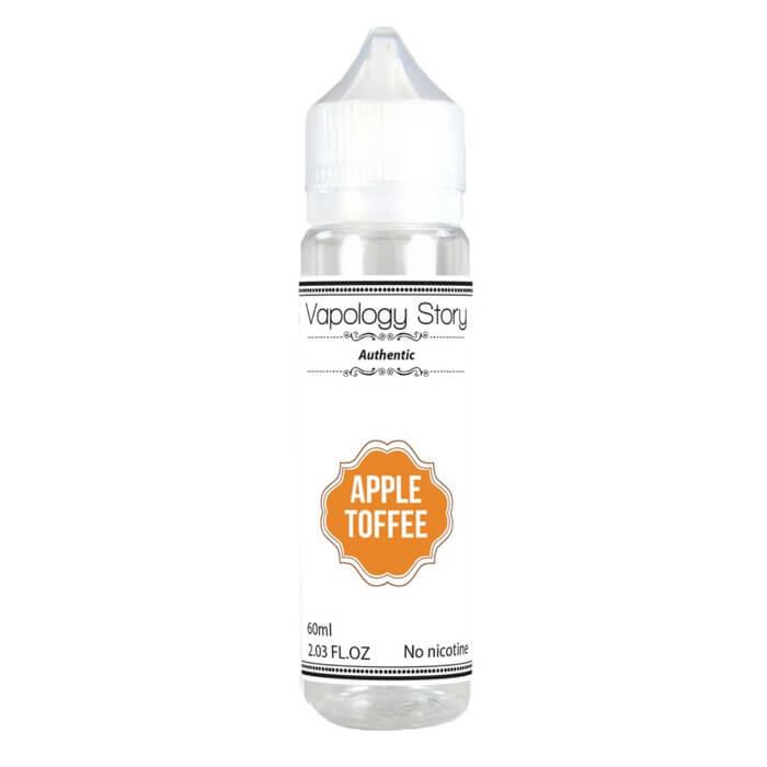 Apple Toffee by Vapology Story eJuice Wholesale eLiquid | eJuice Wholesale VapeRanger