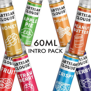 Artisan Clouds Intro Pack eJuice eLiquid by Artisan Clouds - eJuice Wholesale on VapeRanger.com