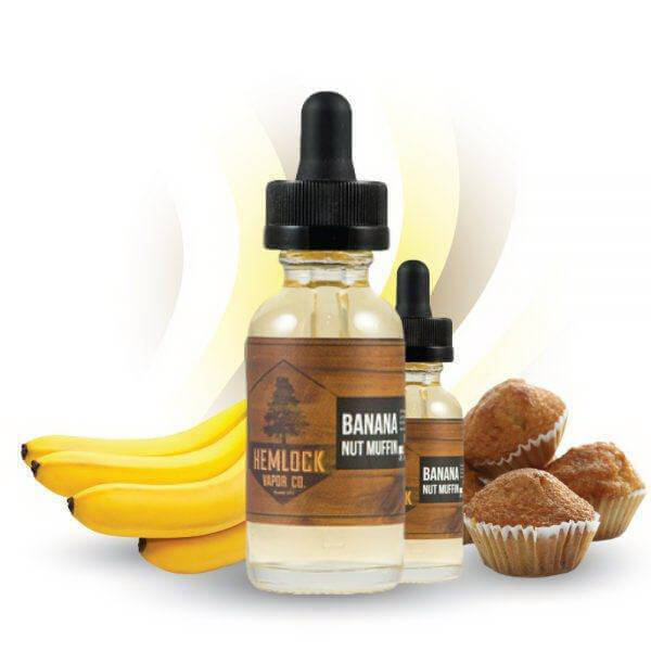 Banana Nut Muffin by Hemlock Vapor Company