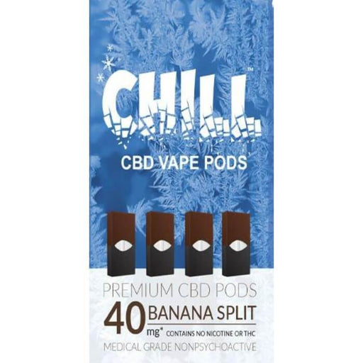 Naturally Peaked Health Chill CBD Vape Pods- VapeRanger Wholesale eLiquid/eJuice