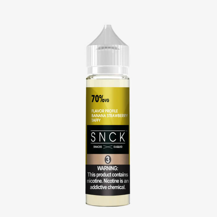 Banana Strawberry Taffy by SNCK (Snacks) E-Liquid Wholesale eLiquid | eJuice Wholesale VapeRanger