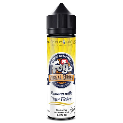 Banana Tiger Flakes by Dr. Fog's Cereal Series eJuice- VapeRanger Wholesale eLiquid/eJuice