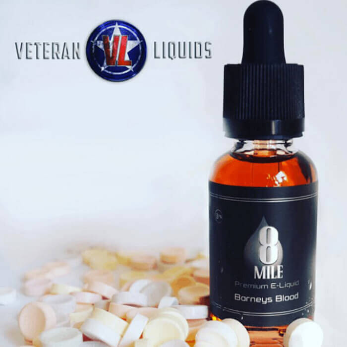 Barney's Blood by 8 Mile Premium eJuice Wholesale eLiquid | eJuice Wholesale VapeRanger