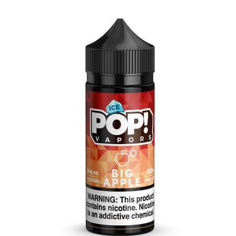 Big Apple Iced by Fruit POP! E-Liquid- VapeRanger Wholesale eLiquid/eJuice