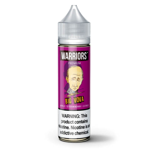 Big Vova by Warriors Premium E-Liquid- VapeRanger Wholesale eLiquid/eJuice