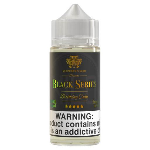 Birthday Cake (100ml) by Kilo Black Series E-Liquids- VapeRanger Wholesale eLiquid/eJuice