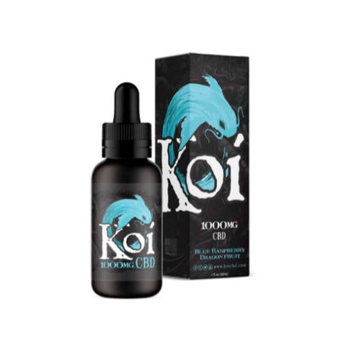Koi CBD Blue CBD Vape Juice- VapeRanger Wholesale eLiquid/eJuice