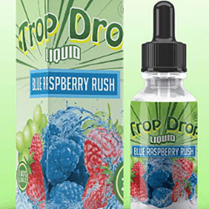 Blue Raspberry Rush by Trop Drop Liquid  #1