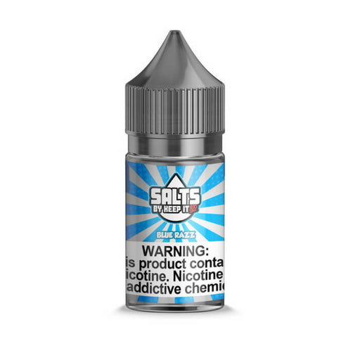 Blue Razz Nicotine Salt by Keep It 100 eJuice- VapeRanger Wholesale eLiquid/eJuice