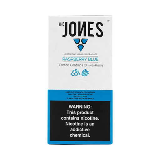 The Jones Pods Raspberry Blue- VapeRanger Wholesale eLiquid/eJuice