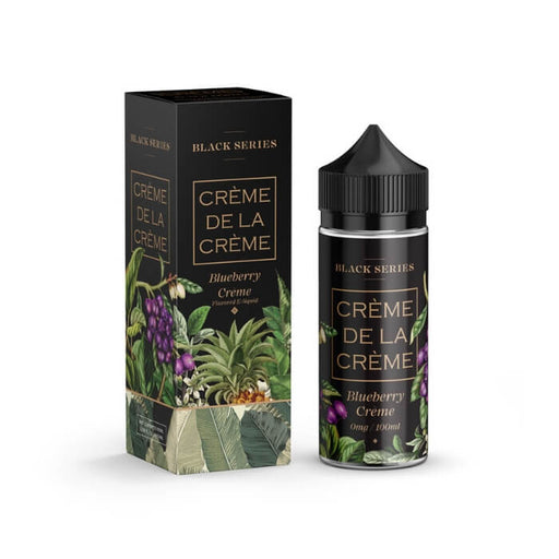 Blueberry Creme Brulee by Creme De La Creme E-Liquid- VapeRanger Wholesale eLiquid/eJuice