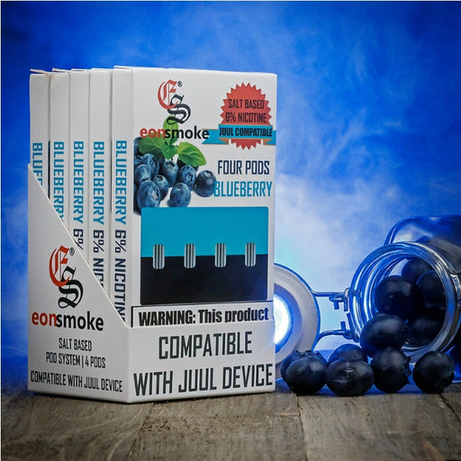 Eonsmoke Blueberry Nicotine Salt Pods- VapeRanger Wholesale eLiquid/eJuice