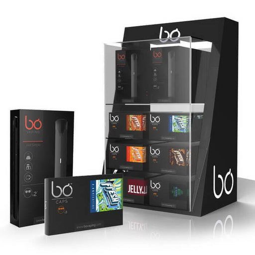 Bo Vaping Pen Vaporizer LED Retail Display- VapeRanger Wholesale eLiquid/eJuice