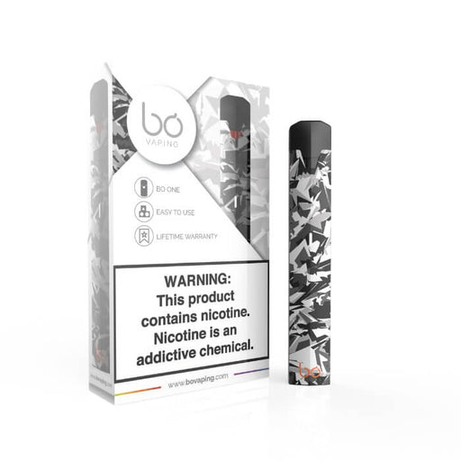Bo One Limited Edition Snow Camo Pen Vaporizer Starter Kit- VapeRanger Wholesale eLiquid/eJuice