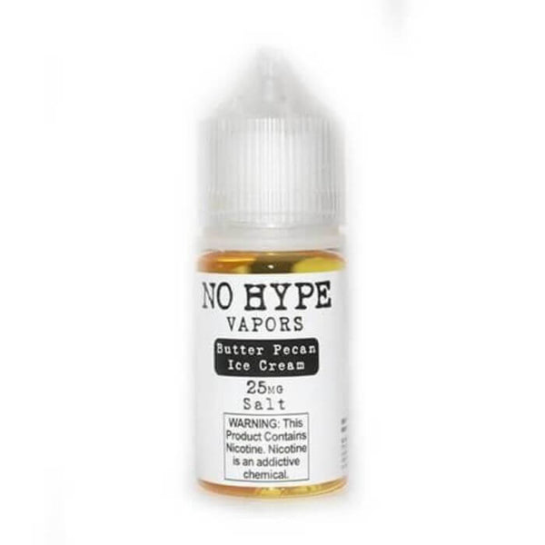 Butter Pecan Ice Cream Nicotine Salt by No Hype Vapors E-Juice