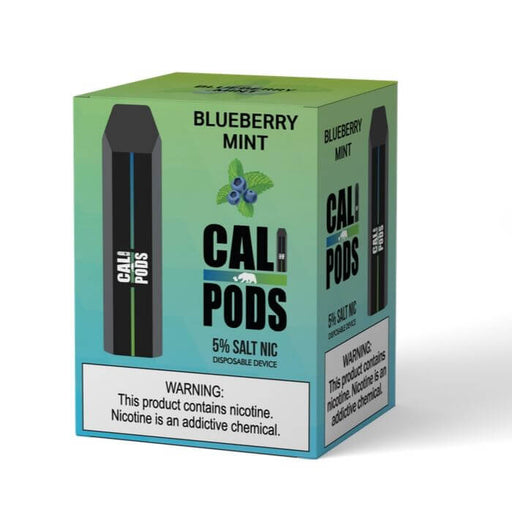 Cali Pods Disposable Device Blueberry Mint- VapeRanger Wholesale eLiquid/eJuice