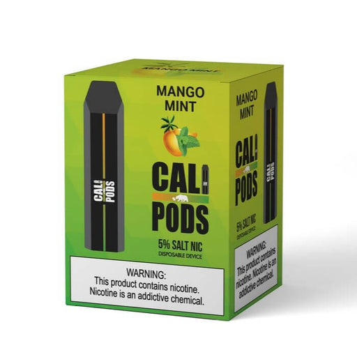 Cali Pods Disposable Device Mango Mint- VapeRanger Wholesale eLiquid/eJuice