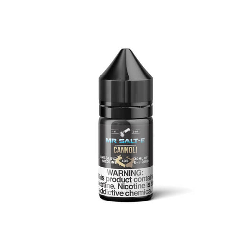 Cannoli by Mr. Salt-E E-Liquid- VapeRanger Wholesale eLiquid/eJuice