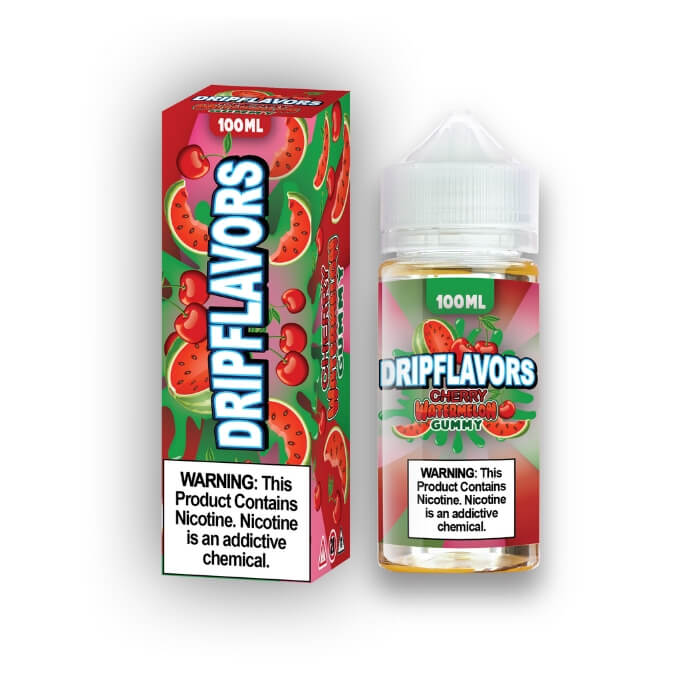 Cherry Watermelon Gummy by DripFlavors eJuice #1