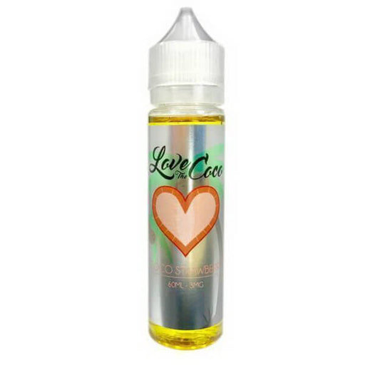 Coco Strawberry by Love The Coco E-Liquid - Unavailable- VapeRanger Wholesale eLiquid/eJuice