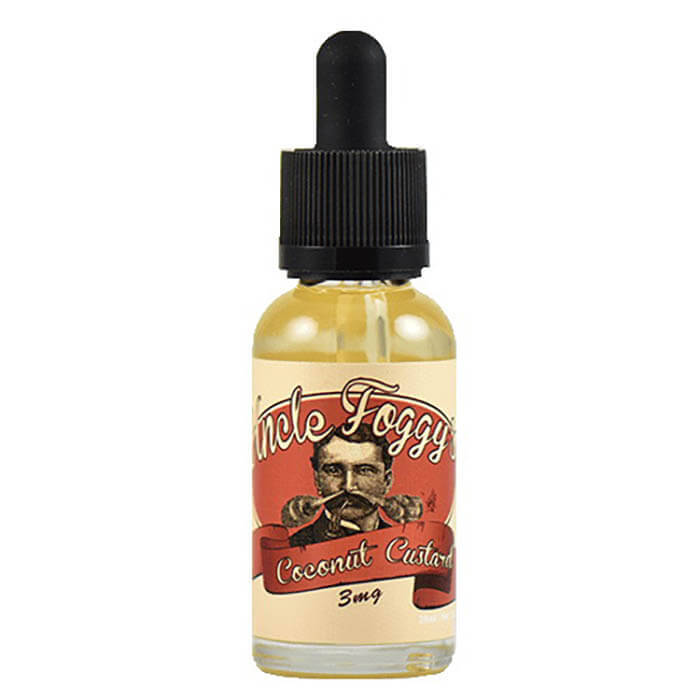 Coconut Custard by Uncle Foggy's Custard eJuice