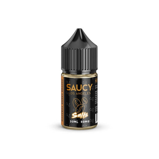 Coffee Creme Tobacco by Saucy Nicotine Salt E-Liquid- VapeRanger Wholesale eLiquid/eJuice