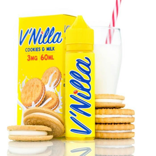 Cookies And Milk by V'Nilla eJuice- VapeRanger Wholesale eLiquid/eJuice