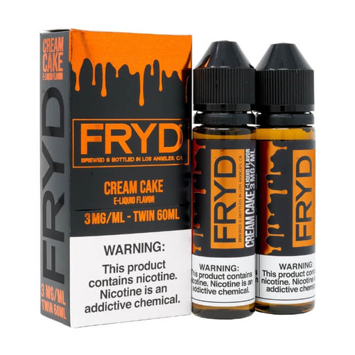 Cream Cake (120ml) by FRYD Premium E-Liquid- VapeRanger Wholesale eLiquid/eJuice