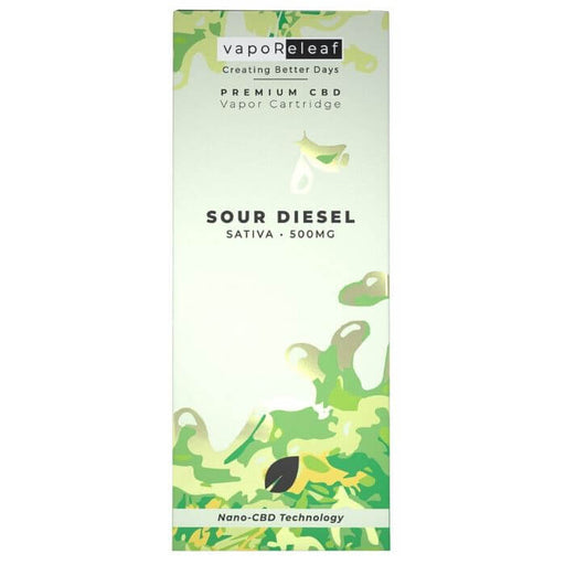 Creating Better Days Sour Diesel Nano CBD Cartridge- VapeRanger Wholesale eLiquid/eJuice