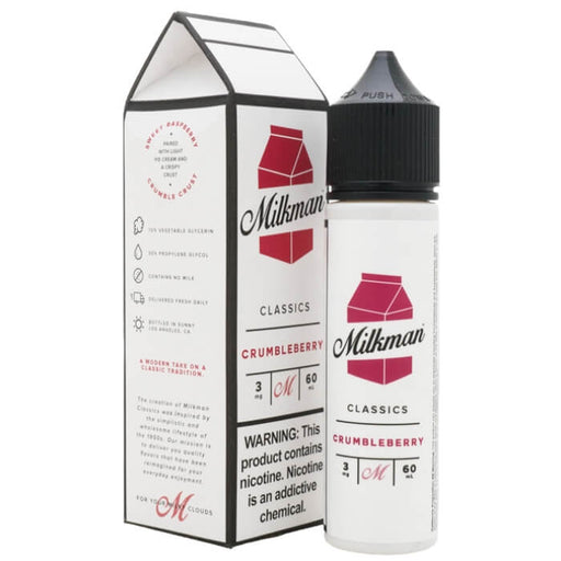 Crumbleberry by The Milkman eJuice- VapeRanger Wholesale eLiquid/eJuice