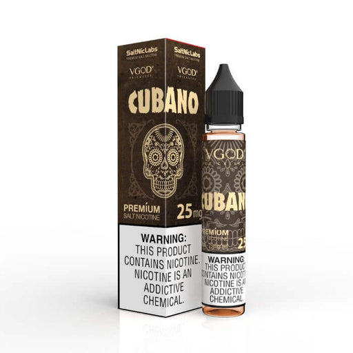 Cubano Salt Nic by VGOD E-Liquids- VapeRanger Wholesale eLiquid/eJuice