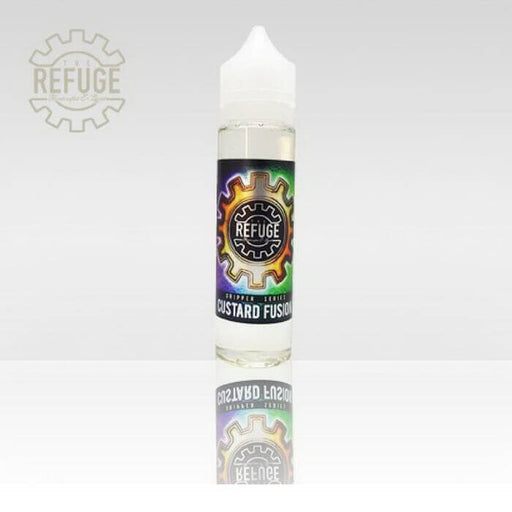 Custard Fusion by The Refuge Handcrafted E-Liquid- VapeRanger Wholesale eLiquid/eJuice
