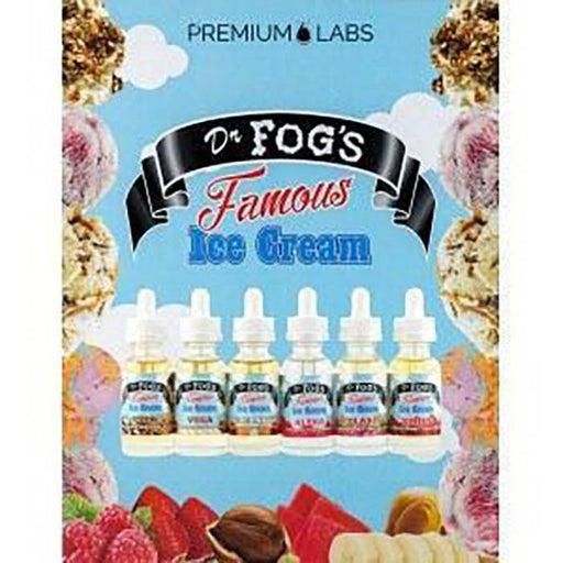 Dr. Fog's Famous Ice Cream eJuice Sample Pack- VapeRanger Wholesale eLiquid/eJuice