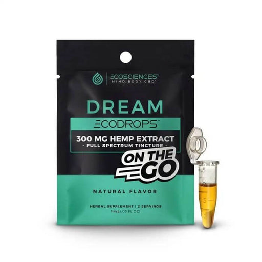 Eco Sciences Eco Drops Dream On The Go CBD Tincture- VapeRanger Wholesale eLiquid/eJuice