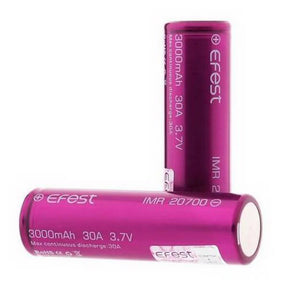 Efest IMR 20700 LiMn 3000mAh [30A] Battery eLiquid by Efest - eJuice Wholesale on VapeRanger.com