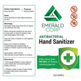 Emerald Corp Spray Antibacterial Hand Sanitizer